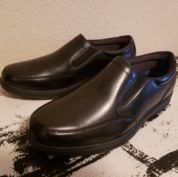 Myles Street Moc Toe Slipon Men Shoe